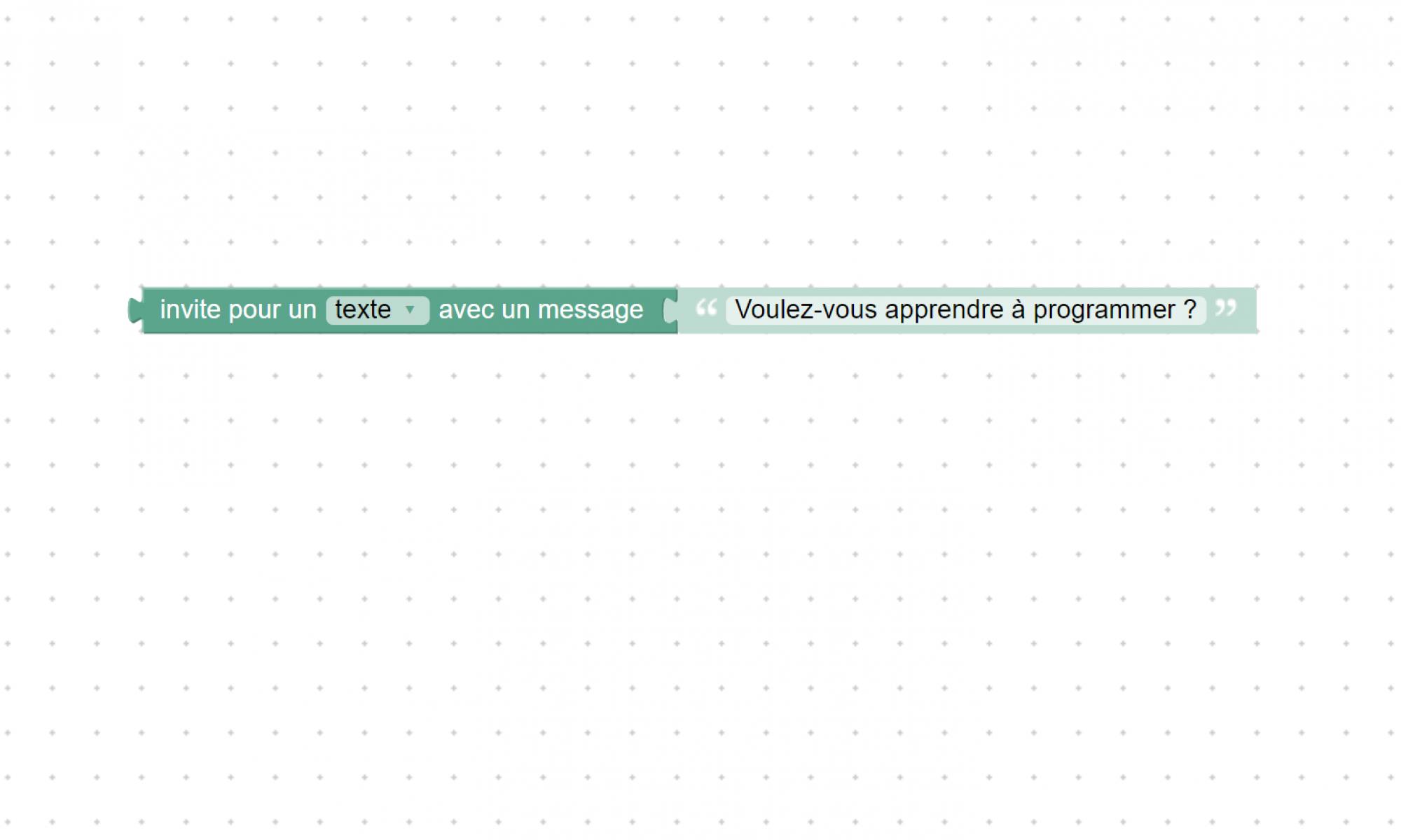 Programmation par blocs