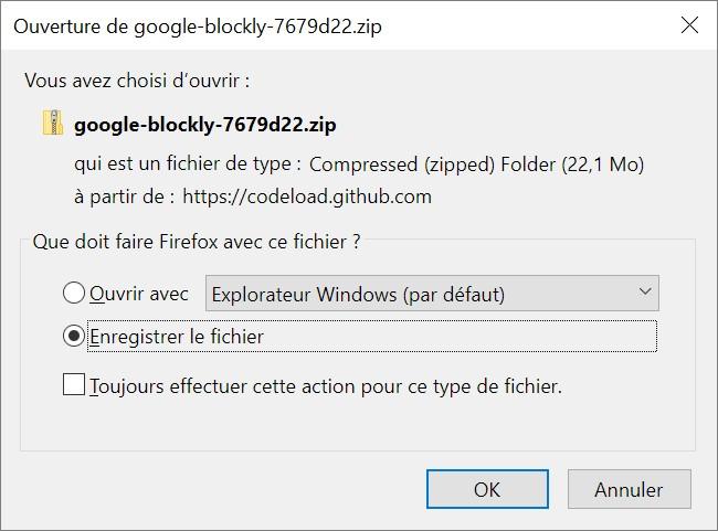 Installer Blockly sur son ordinateur - Programmation par blocs